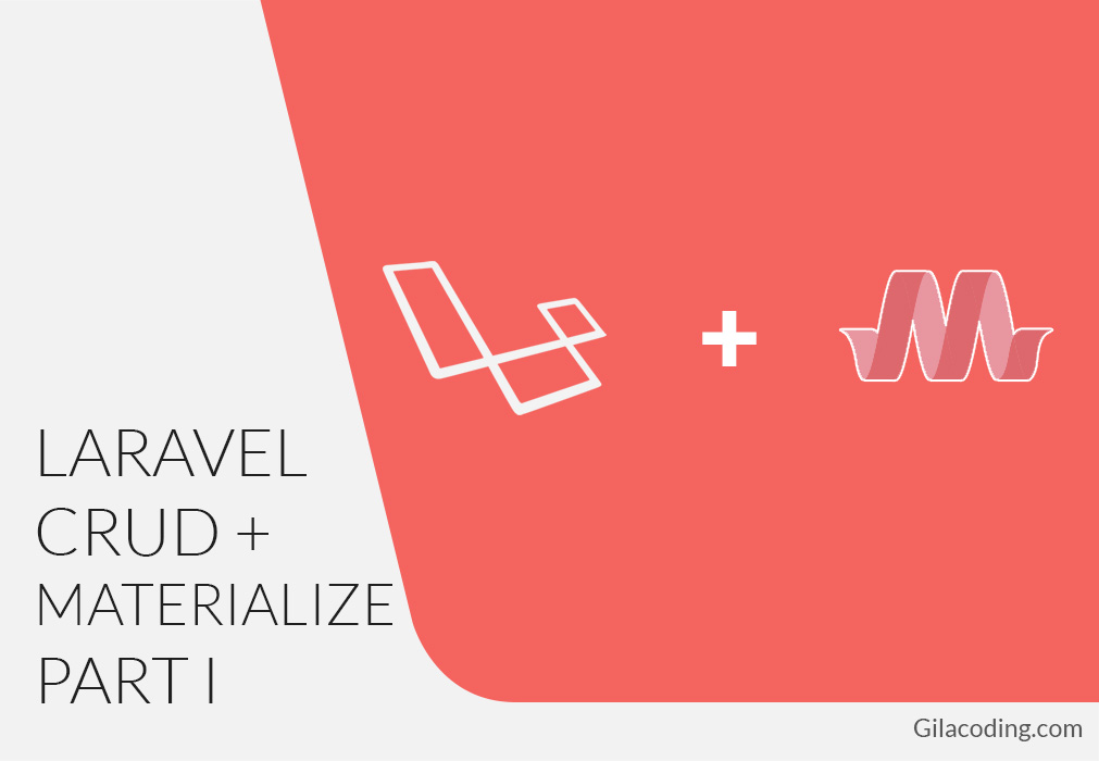 Tutorial CRUD Sederhana Laravel 5.2 dengan Materializecss Part I