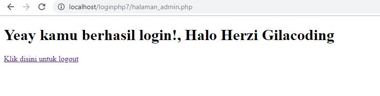 desain login php css