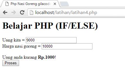 Belajar bahasa pemrograman PHP Dasar - Gilacoding